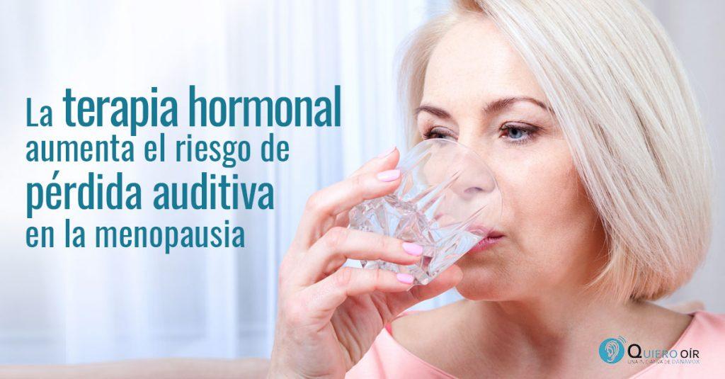 Menopausia y sordera
