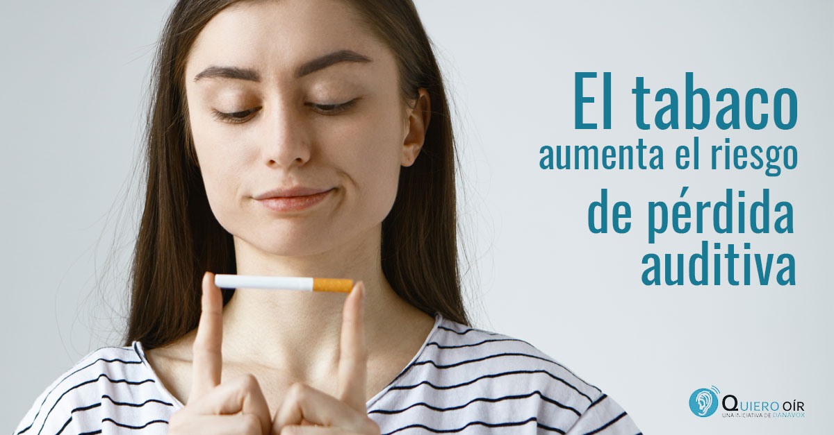 Fumar causa sordera