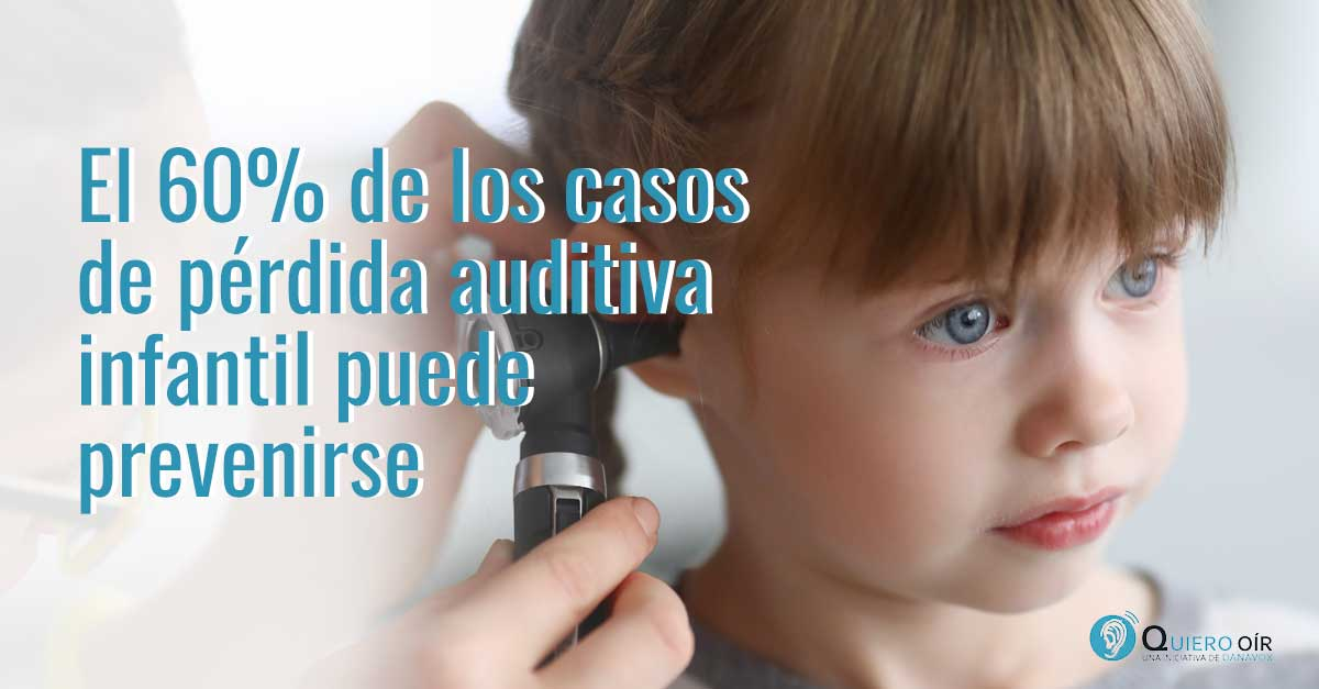 Salud auditiva en la infancia